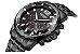 Relógio masculino dourado esportivo  Megir Cronometro - Imagem 8
