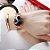 Relógio feminino dourado com pulseira de imã  - Imagem 7