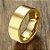Aliança tungstênio polida reta de 8mm casamento/noivado - Imagem 5