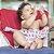 Cadeira de pano Baby and Me rosa corujinha - Imagem 2