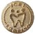 PIN Dourado com o logo da Por1Sorriso - Imagem 1