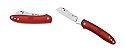 Canivete Spyderco Roadie Red Plain C189PRD - Imagem 2