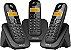 TELEFONE SEM FIO INTELBRAS TS3113 PRETO + 2 RAMAL - Imagem 2