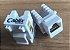 CONECTOR FÊMEA RJ45 CAT5 KEYSTONE CABLIX - Imagem 1