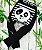 Calça legging de lã Orgânico Blade and Rose Panda personalizado com nome - Imagem 1