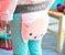 Meia calça lã Blade and Rose porquinha personalizado com nome - Imagem 2