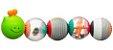 Bolas interativas para coordenação motora Lagarta Infantino - Imagem 1