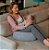 Almofada de Amamentação Cinza Mescla Infanti - Imagem 3