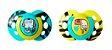 Chupeta Fun Style Tommee Tippee 2 Und 6-18M - Verde com Amarelo - Imagem 1