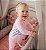 Macacão algodão com pezinho rosa bebe - Welpie - Imagem 2
