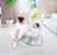 Cadeira de Balanço Automática com Bluetooth Techno Cinza Fit - Mastela - Imagem 6