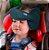 Apoio de Cabeça para cadeirinha carro Preto - Clingo - Imagem 2