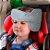Apoio de Cabeça para cadeirinha carro Cinza - Clingo - Imagem 1