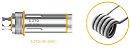 Pack com 5 Bobinas K4 BVC Cleito - Aspire - Imagem 3