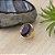 Anel dourado com cristal safira azul  (17) - Imagem 1