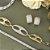Pulseira dourada cravejada em zircônias  - Imagem 2