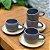 Xícaras Bolinha com pires - conjunto - Imagem 1
