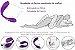 Nana Vibrador Casal Recarregável 10 Modos de Vibrações  - Imagem 3