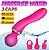 Magic Wand com 3 Ponteiras Massageadoras com 10 Modos de Vibrações  - Imagem 4