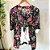 Conjunto Kimono + Cropped Viscose - Imagem 1