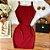 Vestido Alcinha Vermelho - Imagem 1