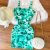 Vestido Reto Tie Dye Verde - Imagem 1