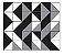 Adesivo de Parede Vinílico Triangular 1 100x60cm - Imagem 2