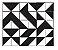 Adesivo de Parede Vinílico Triangular 2 100x60cm - Imagem 2