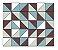 Adesivo de Parede Vinílico Triangular 3 100x60cm - Imagem 2