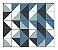 Adesivo de Parede Vinílico Triangular 4 100x60cm - Imagem 2