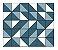 Adesivo de Parede Vinílico Triangular 5 100x60cm - Imagem 2