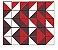 Adesivo de Parede Vinílico Triangular 10 100x60cm - Imagem 2
