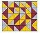 Adesivo de Parede Vinílico Triangular 11 100x60cm - Imagem 2