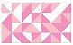 Adesivo de Parede Vinílico Triangular 13 100x60cm - Imagem 2