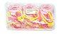 CARTELA COM 3 PEÇAS DE PULSEIRA BORBOLETA - PACOTE COM 12 CARTELAS  - Imagem 2