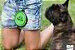 Bebedouro E Comedouro Para Cachorro Portatil De Silicone - Imagem 4