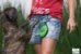 Bebedouro E Comedouro Para Cachorro Portatil De Silicone - Imagem 3