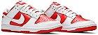 Tênis Nike Dunk Low White - University Red (2021) - Imagem 2