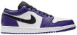 Tênis Nike Air Jordan 1 Low - Court Purple - Imagem 1