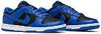 Tênis Nike Dunk Low - Black Hyper Cobalt (2021) - Imagem 2