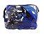 Roller Patins In Line + Capacete + Kit Proteção Tamanho M (30 Ao 33 ) Radical Cor Azul - BLX8 3652 - Imagem 6