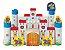 Castelo Encantado de Montar Madeira 64 Peças - Brincadeira de Criança - Imagem 1