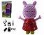 Caixa Som Infantil Portatil Peppa Pig Radio MP3 FM SD USB - Imagem 2