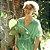 kimono Bandage Verde algodão - Imagem 1