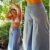 Pantalona Color Azul sky - Imagem 5