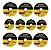 Kit 10 Disco de Corte Inox 4.1/2x3/64x7/8 Beltools - Imagem 2