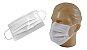 Máscara Dupla - Com Elástico e Clipe Nasal - TNT - 10 unidades - Imagem 1