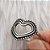 Anel Prata Coração Envelhecido Vazado - Imagem 2