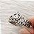 Anel de Prata Zircônia Coroa de Princesa - Imagem 2