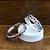 Anel Prata Trançado Vazado - Imagem 3